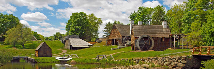 Saugus Iron Works, Massachusetts by the National Park Service.
