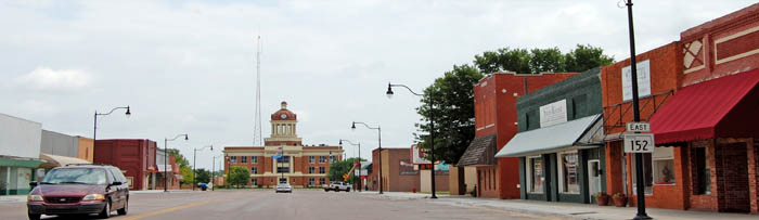 Sayre, Oklahoma by Kathy Weiser-Alexander.
