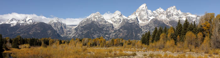 The Grand Tetons in Wyoming by Carol Highsmith.