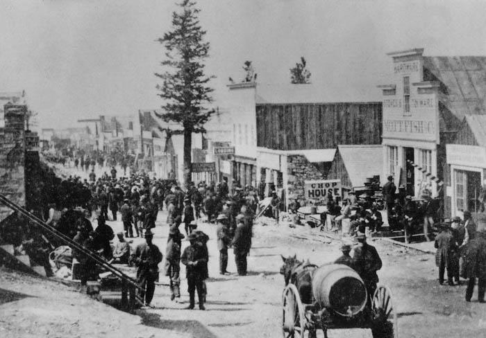 Treasure City, Nevada, 1869