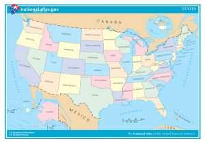 U.S. States National Atlas