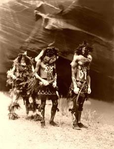 Navajo Yebichai war gods 1904