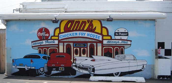 Oklahoma City - Ann's Chicken Fry