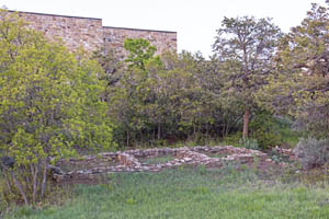 The ruins of Dominguez Pueblo at Canyons of the Ancients National Monument by Carol Highsmith.