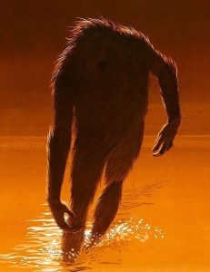 Legend of Boggy Creek Movie Poster.