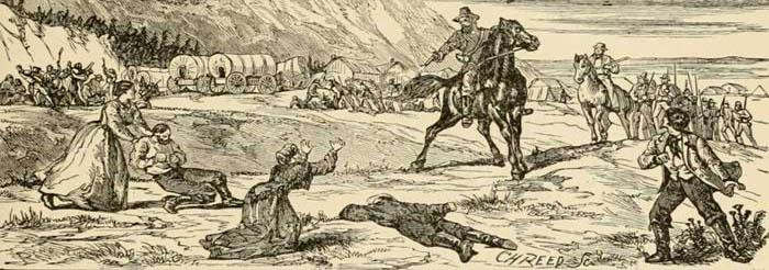 Mountain Meadows Massacre, Utah.