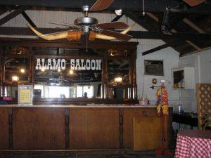 Alamo Saloon Interior, Abilene, Kansas by Kathy Weiser-Alexander.