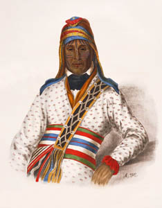 Chief Eufaula by Charles Bird King
