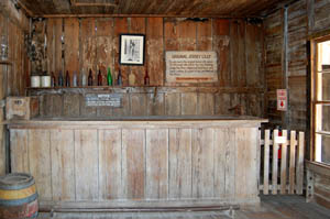 Interior of Jersey Lilly Saloon in Langtry, Texas by Kathy Weiser-Alexander.