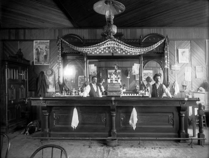 Meeker, Colorado Saloon, 1899.