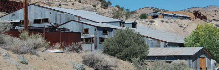 Silver City, Nevada Mining Remnants by Kathy Weiser-Alexander.