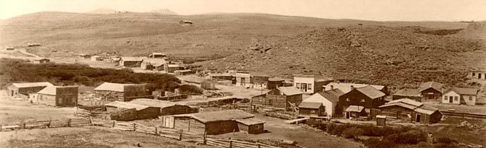 South Pass City, Wyoming 1906.