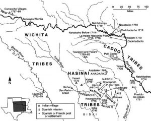 Texas Tribes Map