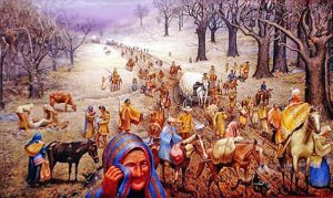 Trail of Tears by Max D. Standley.
