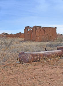 Camp Naco, Arizona Building Ruins by Kathy Weiser-Alexander.