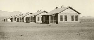 Camp Naco Officer Quarters, 1920.