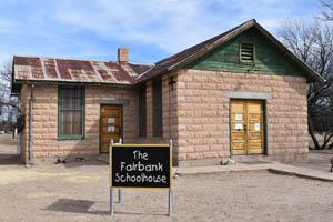 Fairbank, Arizona School by Kathy Alexander.