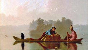 French fur traders on the Missouri River.