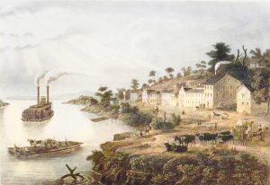 Westport Landing, Missouri, 1853