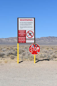 Warning! DO NOT enter Area 51 by Kathy Weiser-Alexander.