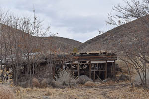 Old stone building built by the Culverwells in Caliente, Nevada by Kathy Weiser-Alexander.