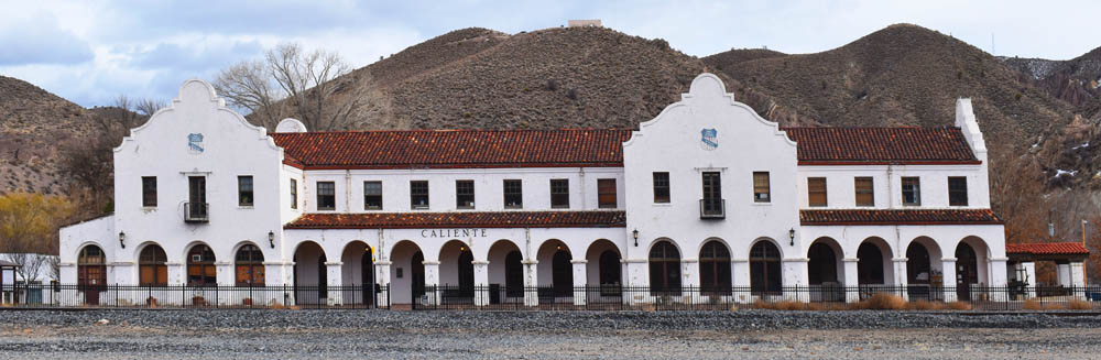 Old Union Pacific Depot in Caliente, Nevada by Kathy Weiser-Alexander.