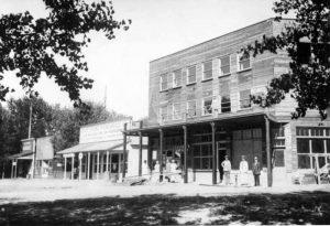 The Smith-Cornelius Hotel in Caliente, Nevada, 1927.