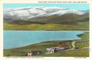 Eagle Nest Lodge Postcard