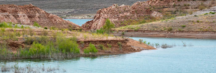 Cove at Echo Bay, Lake Mead, Nevada by the National Park Service, 2012.