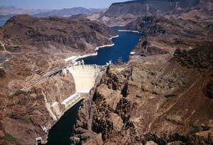 Above Hoover Dam near Boulder City, Nevada by Carol Highsmith.