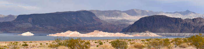 Lake Mead from Boulder Beach, Nevada by Kathy Alexander.