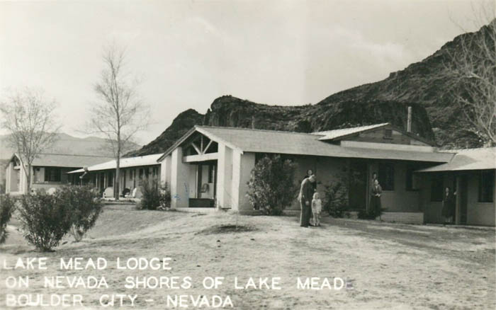 Mead Lodge near Boulder Beach, Nevada.