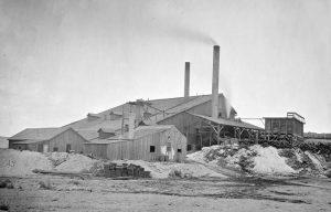 Meadow Valley Mining Company near Pioche, Nevada, 1871.