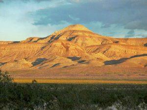 Meadow Valley range, Nevada courtesy Bureau of Land Management.
