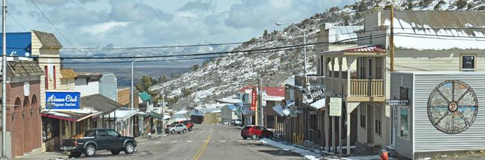 Pioche, Nevada Main Street by Kathy Weiser-Alexander