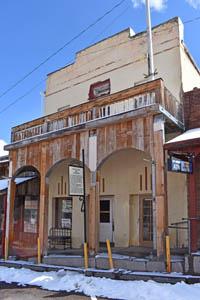 Odd Fellows Hall in Pioche, Nevada by Kathy Weiser-Alexander.