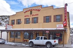 Overland Hotel & Saloon, Pioche, Nevada by Kathy Alexander.