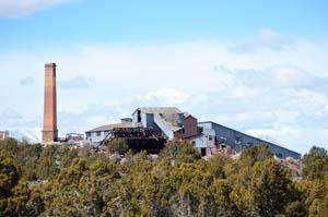 Godbe Mill, Pioche, Nevada by Kathy Weiser-Alexander.