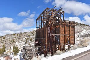 Pioche, Nevada Mine by Kathy Alexander.