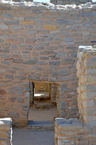 Doors at the Aztec Ruins National Monument by Dave Alexander.