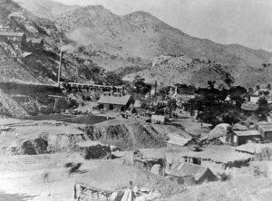Copper Queen Smelter in Bisbee, Arizona 1880.