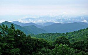 Blue Ridge Mountains courtesy Wikipedia.