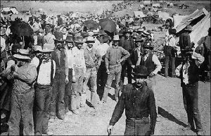 Preparing for the Cherokee Outlet Opening in 1893.