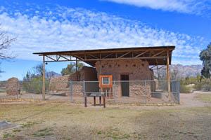 Fort Lowell Hospital Ruins in Tucson, Arizona by Kathy Weiser-Alexander.