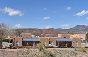 A building at the Jemez Pueblo in New Mexico by Kathy Weiser-Alexander.