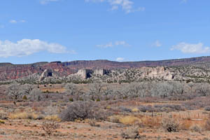 San Diego Canyon at the Jemez Pueblo, New Mexico by Kathy Weiser-Alexander.