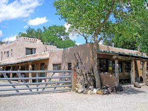 Casa Grande Trading Post at Los Cerillos, New Mexico by Kathy Weiser-Alexander.