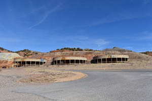 Old mining operations in Lowell, Arizona today by Kathy Weiser-Alexander.
