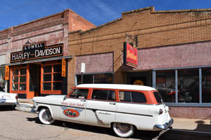 Old Station Wagon in Lowell, Arizona by Kathy Weiser-Alexander.