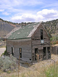 Old Company House, Madrid, New Mexico by Kathy Weiser-Alexander.